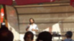 Miguel Boim, O Caminheiro de Sintra, na Feira do Livro de Lisboa 2017