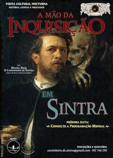 A Mão da Inquisição em Sintra - Caminhada Nocturna em Sintra por Miguel Boim
