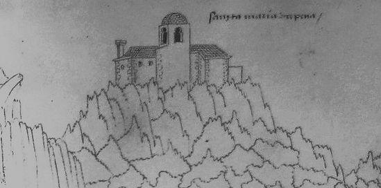 Santa Maria da Pena e um Eclipse - artig