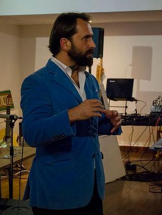 Miguel Boim, O Caminheiro de Sintra no 20.º Aniversário do Núcleo Serra da Lua, do Corpo Nacional de Escutas