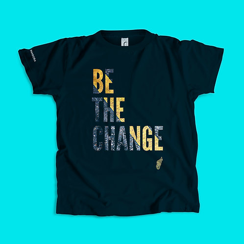 T-shirt Be the change