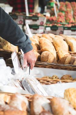 Farmers Market Baker Fresh Bread