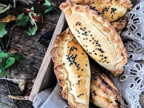 Roasted Vegetable & Gruyere Pasties
