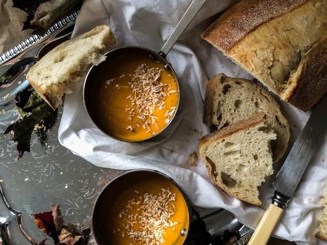 Lemongrass, Ginger & Pumpkin Soup
