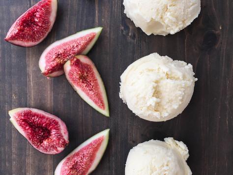 Fig Leaf & Vanilla Bean Ice-Cream