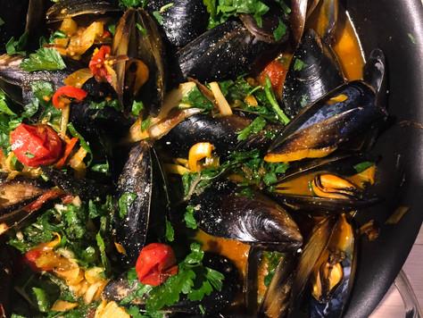 Vadouvan Mussels