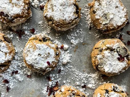 "Cookbooks and ""tea"" biscuits"