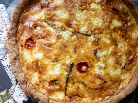 Honey-roasted Tomato & Goat Cheese Tart