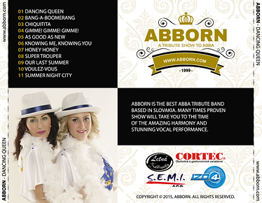abba show, slovakia, abborn