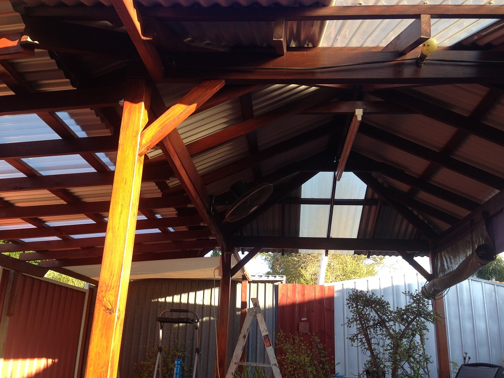 Large pergola, Coolbellup