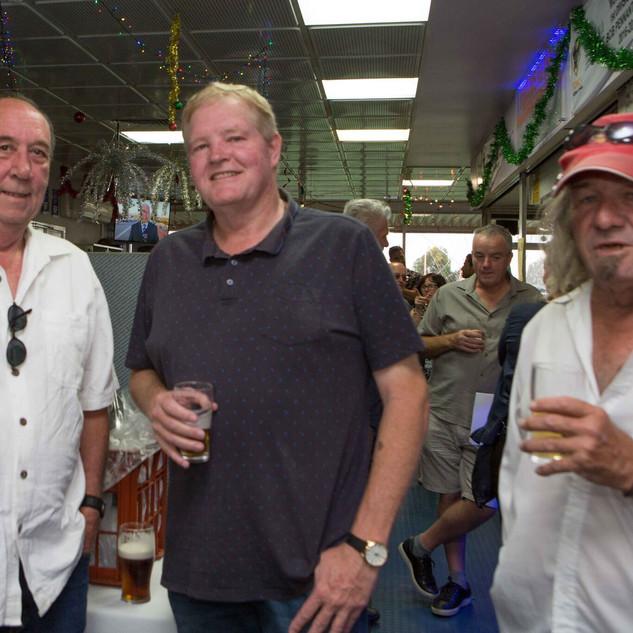 Simon, JC and Peter