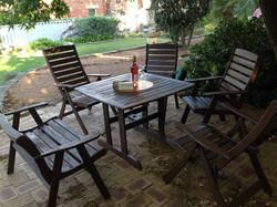 garden furniture restored Dalkeith