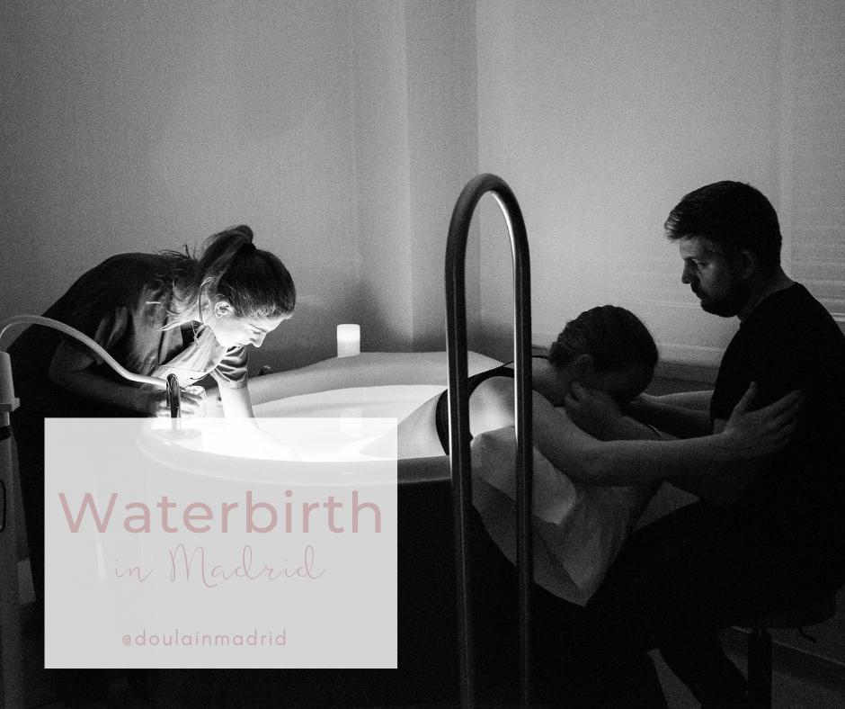 doula madrid waterbirth natural