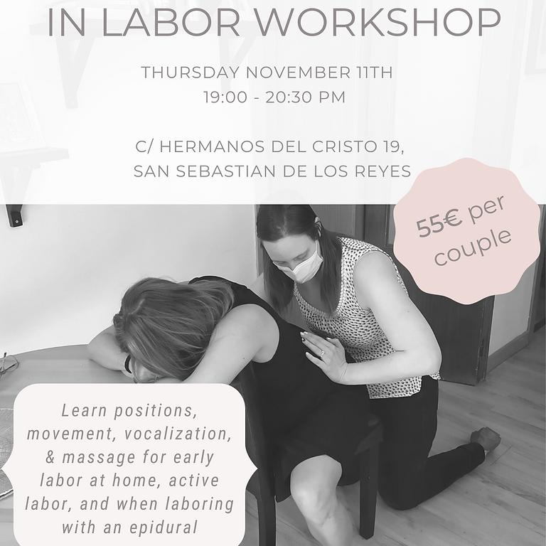 Movement & Massage in Labor Workshop