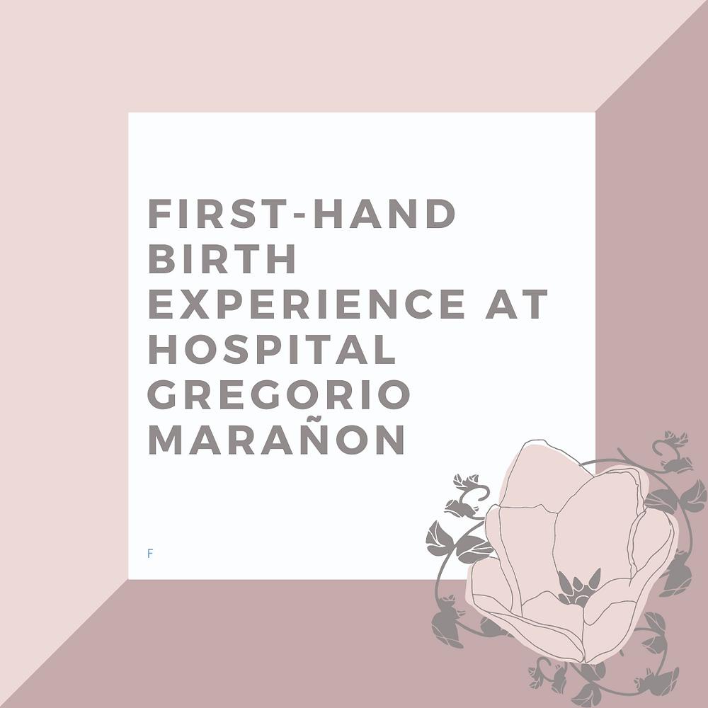 doula madrid hospital gregorio marañon