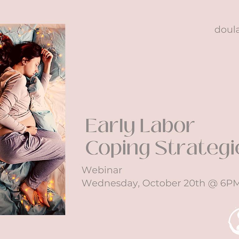 FREE Webinar: Early Labor Coping Strategies