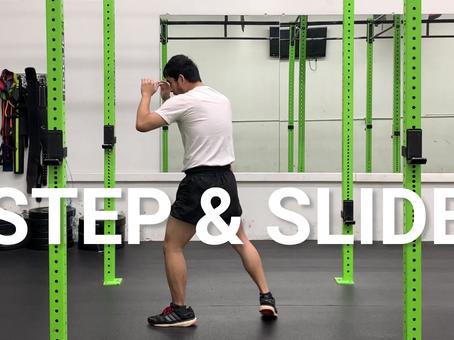 Episode 5 Footwork Variation: Step & Slide
