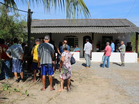 Inauguração do posto de atendimento em Sambaetiba.