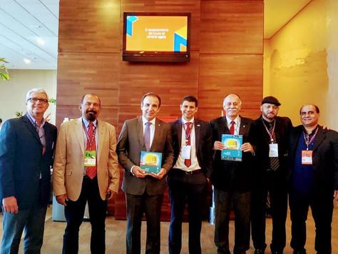 Presidente da CERCI, Helon Marins, participa do 14° Congresso do Cooperativismo.