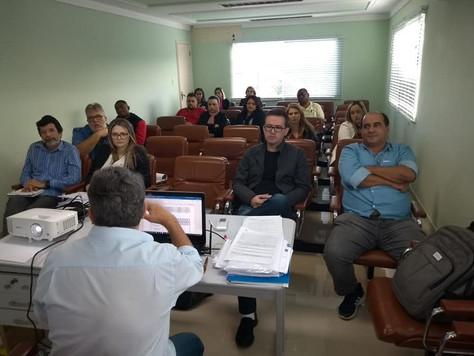 Curso de capacitação na CERAL.