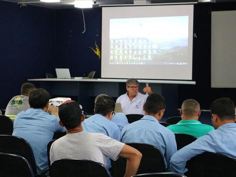 CERCI realiza treinamento de aperfeiçoamento das equipes de atendimento emergencial.