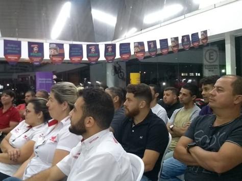 Cerci participa de Curso de Capacitação.