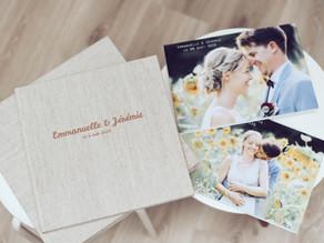 Un album de mariage souvenir pour les parents