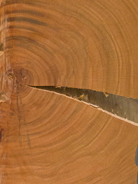 würfelförmiges kirschholz | 2017