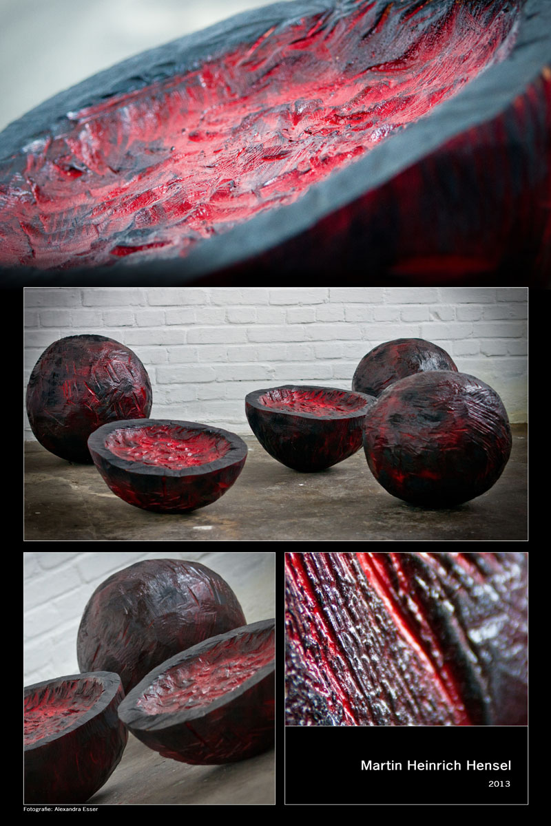 schwarz rote kugeln | 2013