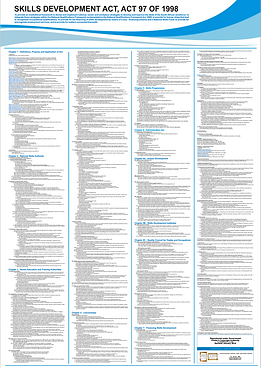 A1 Chart/poster of the skills development act - 2021 SDA