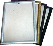 Budget bulk certificate frames in Gold, Silver, Black & brown.