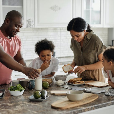 Why cooking with your child is important?