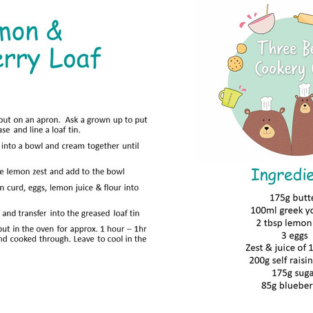 Lemon & Blueberry Loaf..the perfect summers day recipe