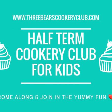 February Half Term Cookery Clubs
