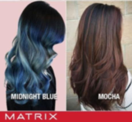 Matrix Color Balayage Ombre M Salon Bloomingdale