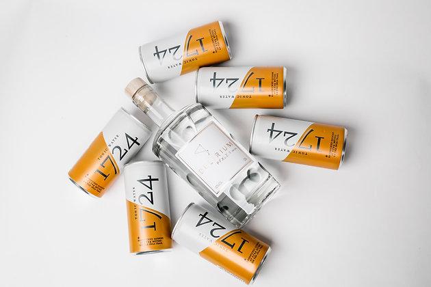 Set - DELIRIUM PFXLZ. II Dry Gin & 1724 Tonic Water