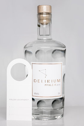 DELIRIUM PFXLZ. II Dry Gin mit Geschenkanhänger