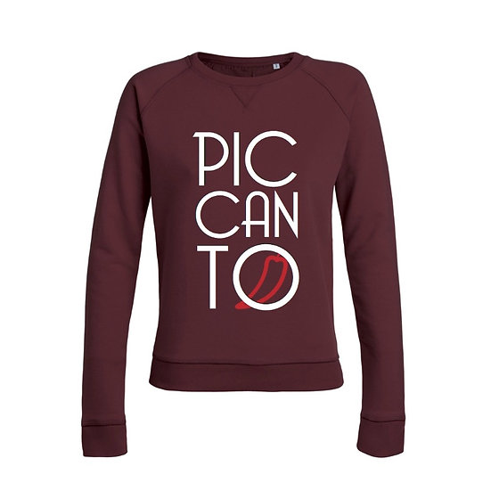 Damen Sweatshirt burgundy
