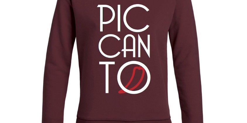 Damen Sweatshirt burgundy