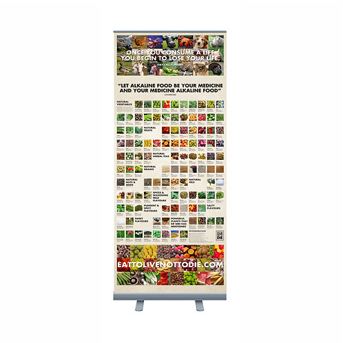 PULL UP NUTRITION BANNER