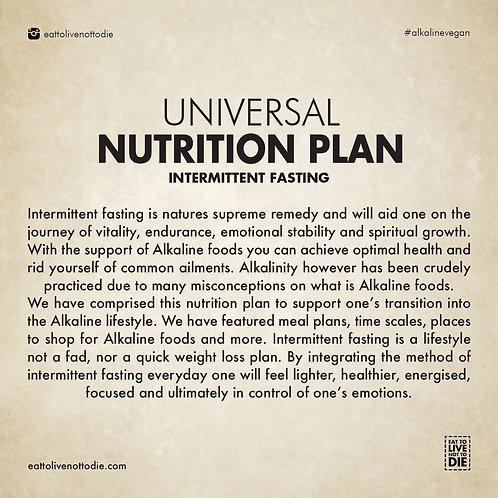 NUTRITION PLAN (DIGITAL)