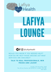 Our First Event: Lafiya Lounge!