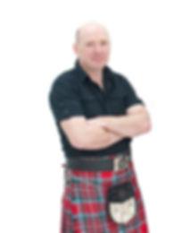 Ewan McBean, fiddle player with Tarmachan, ceilidh band in Perthshire