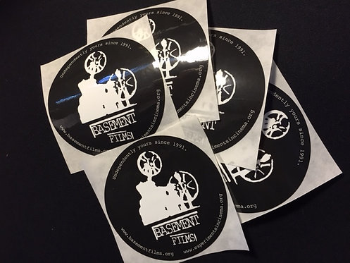 Basement Films Stickers