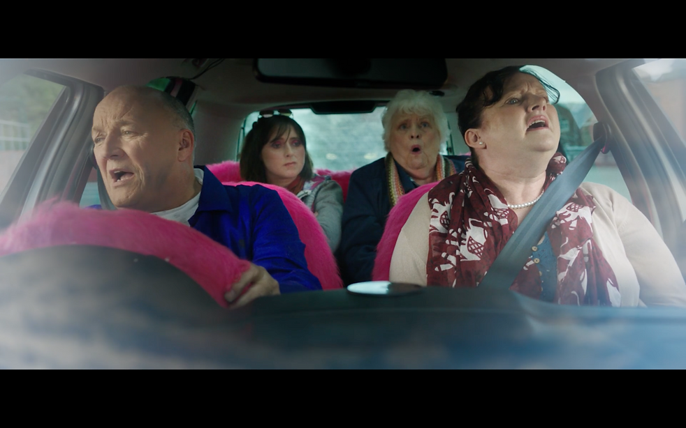 In the car1 - Barry Badger (Michael Forr