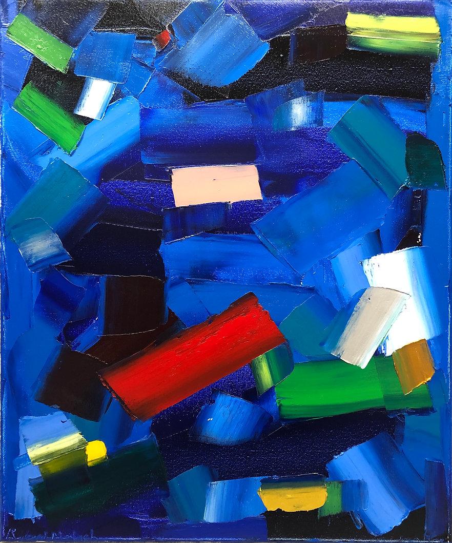 Ribal Molaeb oil on canvas