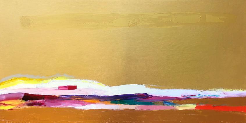 Ribal Molaeb 100x50 cm - oil on canvas