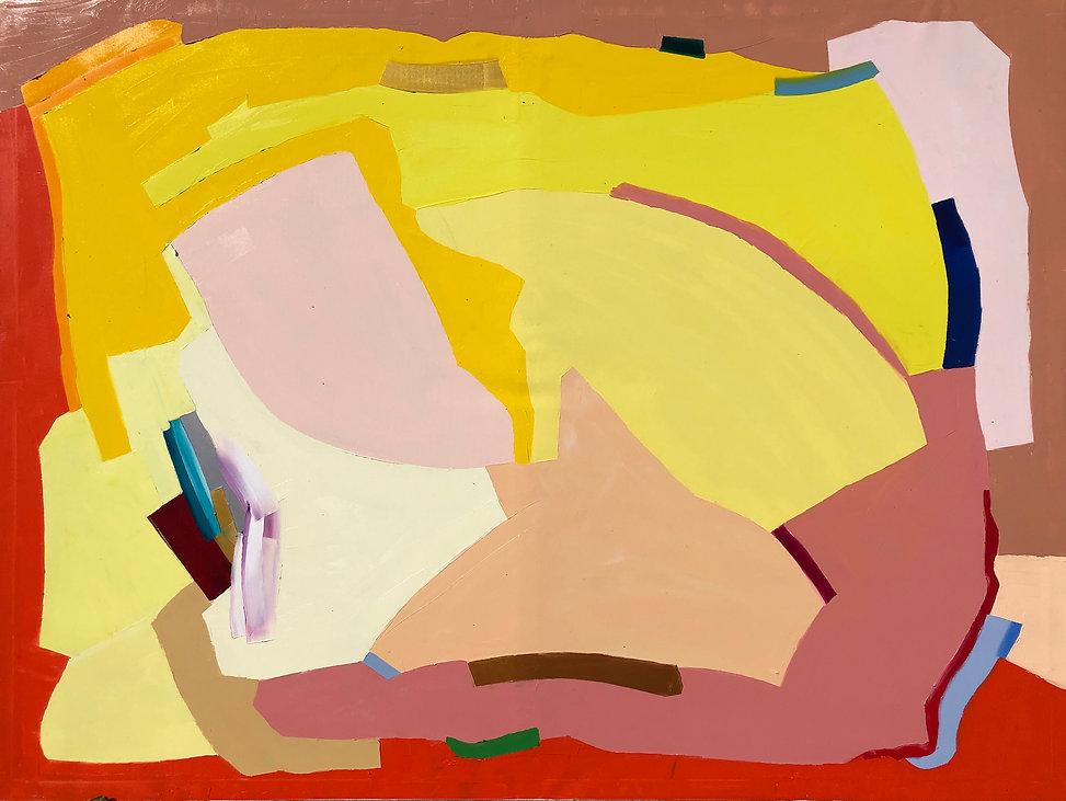 Ribal Molaeb 150x200 cm - oil on canvas