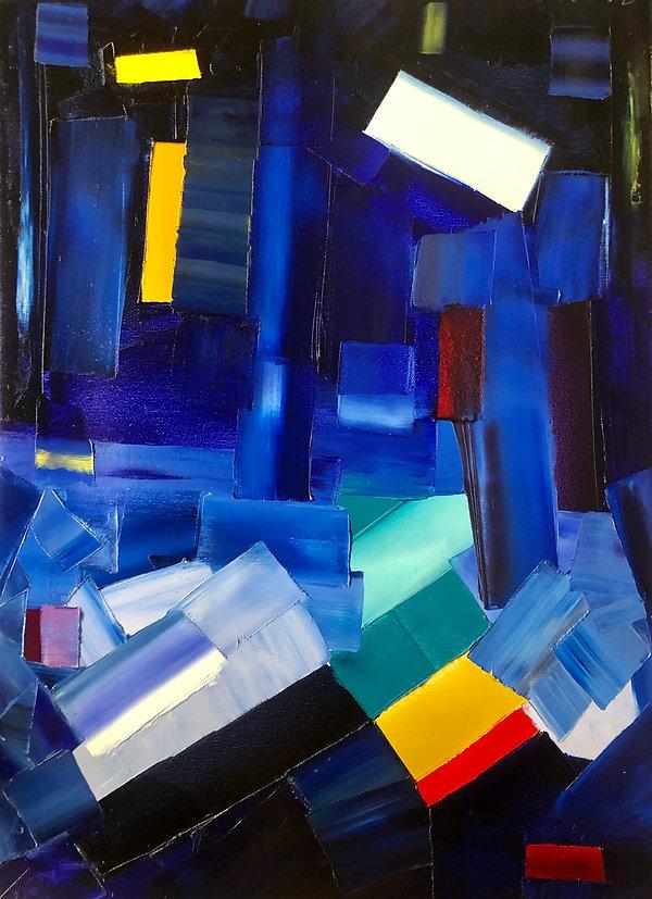 Ribal Molaeb 70x50 cm - oil on canvas