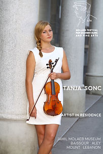 Tanja Sonc, Artist in residence at Molaeb Festival